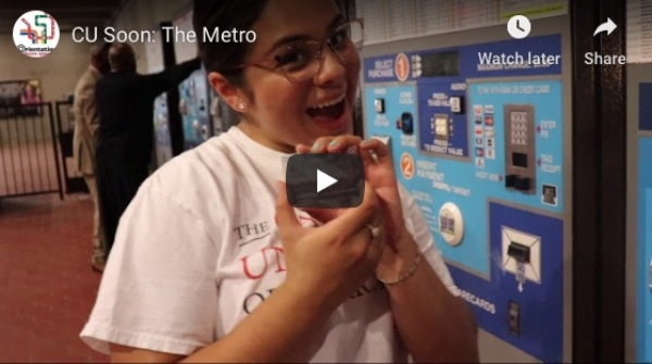 Screenshot of a YouTube video about how to use the Metro